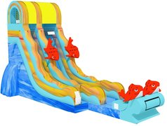 22' Big Kahuna Water Slide