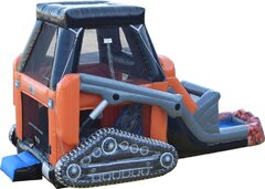 Skid Loader Bouncer with Water Slide***Coming Soon***