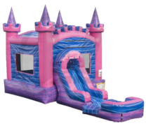 Royal Pink Castle with Water Slide***Coming Soon***