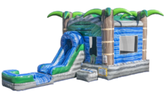 Tropical Crush Bounce House with Water Slide***Coming Soon***