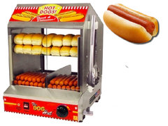 "<span style=""color:#0415BC;""> Hot Dog Steamer"