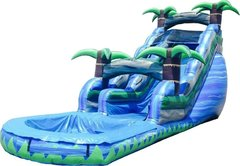 18' Blue Crush Water Slide