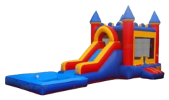 "<span style=""color:#0415BC;""> Bounce House Water Slide Combo"