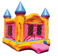 "<span style=""color:#0415BC;"">Girls Bounce Castle"