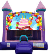 Birthday Cake Dazzling Bounce House ***New Jumper***