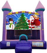 Dazzling Christmas Bounce House