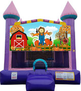 Fall Fest Dazzling Bounce House***New Jumper***