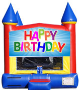 Happy Birthday Bounce House***New Jumper***
