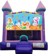 Mermaid Dazzling Bounce House***New Jumper***