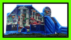 Combo (bounce house n slide)