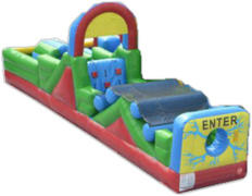 single lane obstacle course r