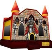 B1  Medieval Castle Bounce House