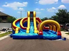 15Ft Helix Water Slide Package
