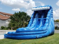 18 Ft Dual Lane Monster Water Slide Package