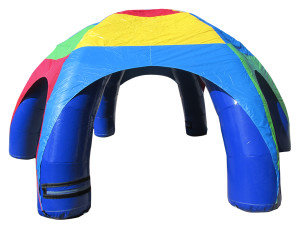 Color Air tent