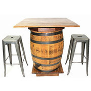 Whiskey/Wine Barrel Bistro Table