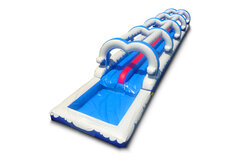 BLUE WAVE DUAL LANE SLIP AND SLIDE