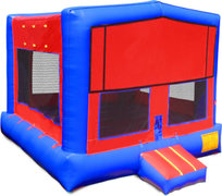 Red Blue Modular Bounce House