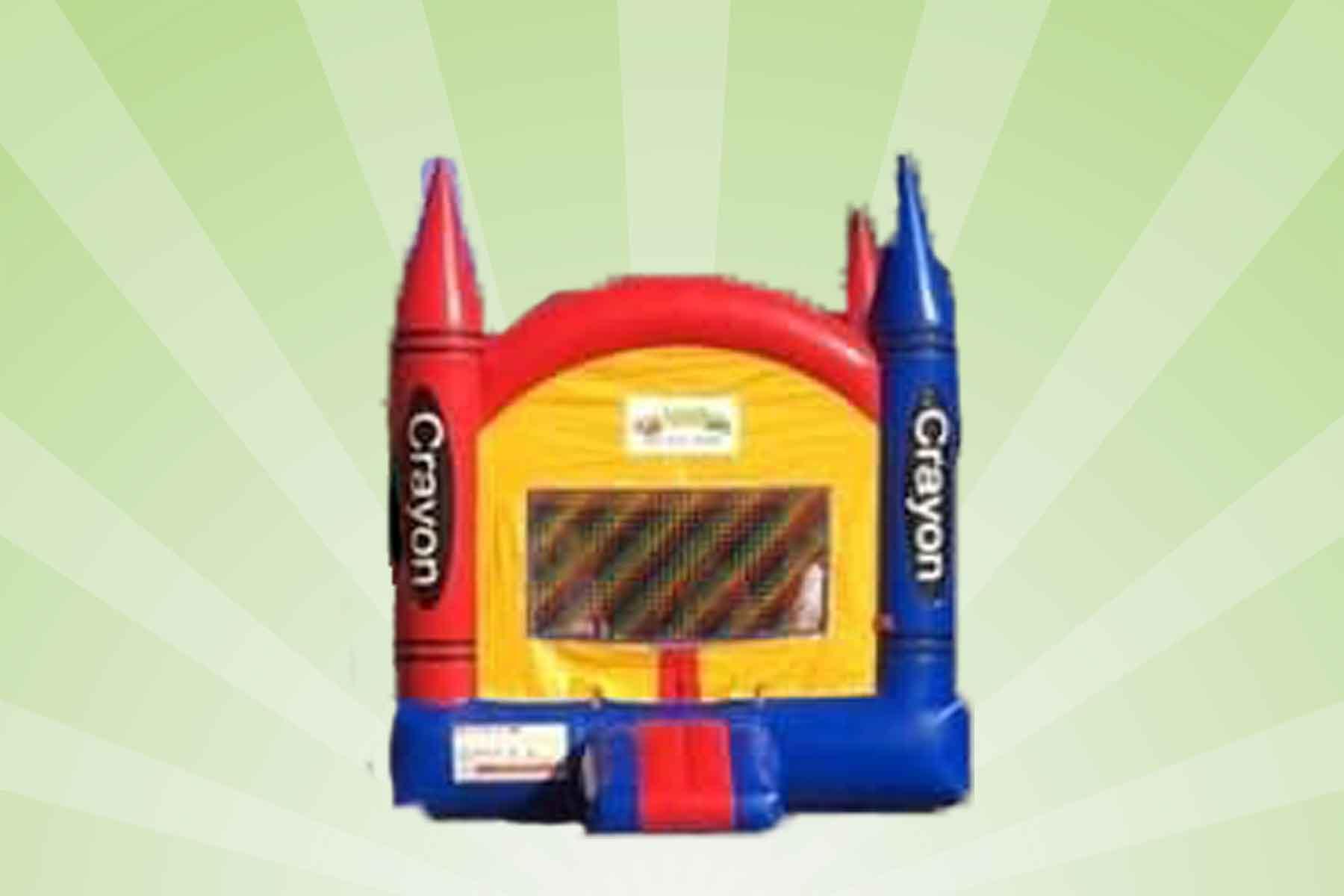 Crayola Crayon Bounce House