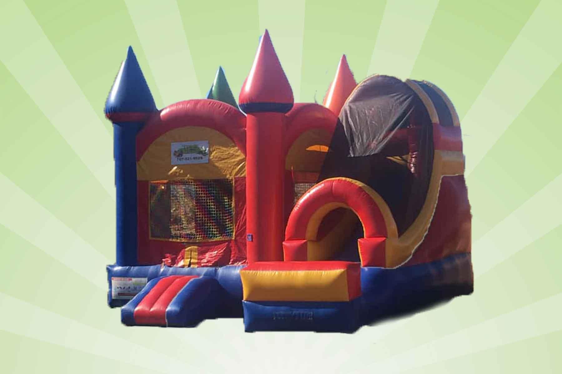 Castle Combo Bounce House Rental