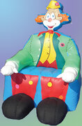 Inflatable Clown Chair