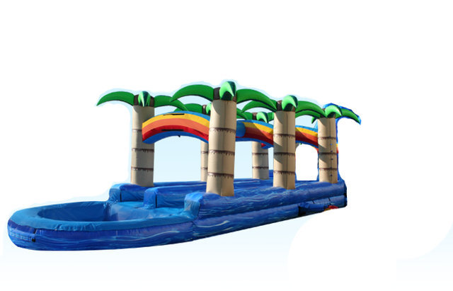 Tropical Dual Lane Slip n' Slide