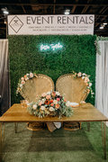 Boxwood Greenery backdrop