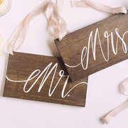 Mr. & Mrs. Chair Hangings