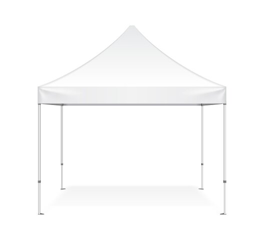 10x10 White Commercial Quality EZ-Up Tent