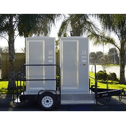 2 - Unit VIP Toilet Trailer
