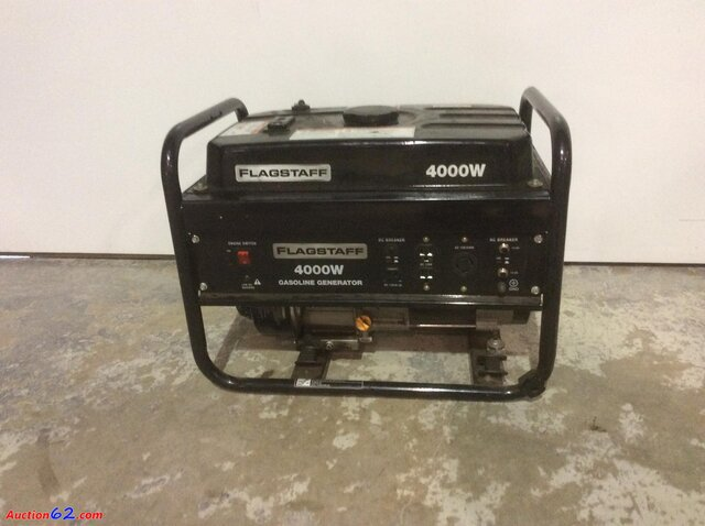 Generator - 4000 Watt - 30 amp with full tank of gas
