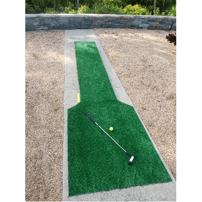 Hole In One Putting Green with Putter and Golf Balls