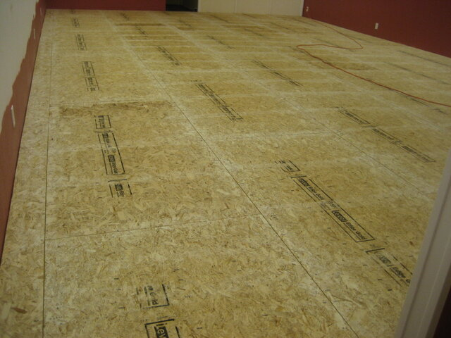 DANCE FLOOR SUB FLOORING FOR UNEVEN SURFACES (per sq Ft.)