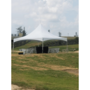 20x20 High Peak Commercial Frame Tent (4 Legs)