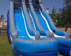 24 Ft. Big Blue Water Slide