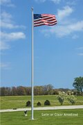 20 Ft. Heavy Duty outdoor Flag Pole