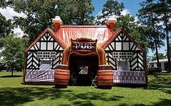 Inflatable Pub - Irish Pub Tent - 500 Sq Ft.