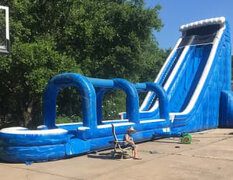 Massive Tsunami Water Slide - 28 Ft. Tall