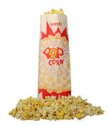 Popcorn Supplies for up to 50 - Corn with Butter/salt and bags