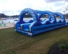34 Ft. Dual Lane Slip N Slide