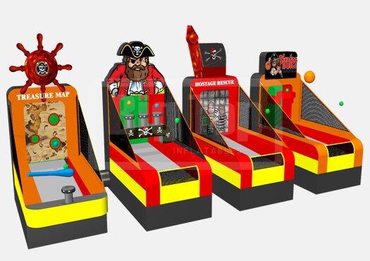 Pirate Themed Carnival Game Package