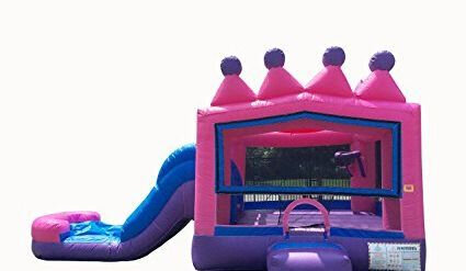 PRINCESS TIARA BOUNCE HOUSE COMBO WET