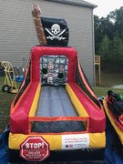 Pirate Ball Toss Carnival Game