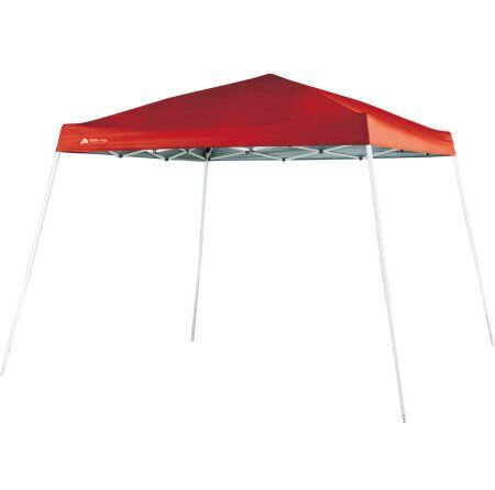 RED POP UP TENT 10X10