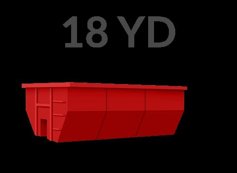18 yard dumpster