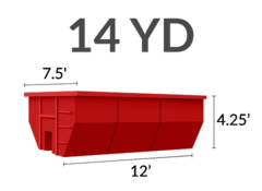 14 Yard Dumpster Swapout