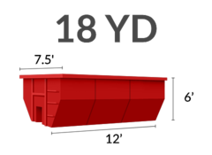 18 Yard Dumpster Swapout