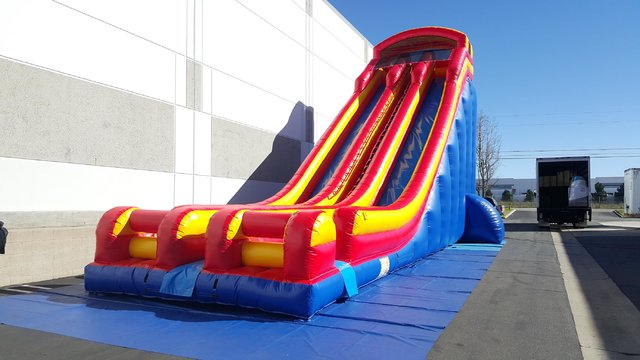 30Ft. Double Lane Super Slide