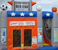 All  Sports Bouncy Combo 5 in 1 RESIDENTIAL