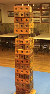 MEGA GIANT JENGA Picnic Party Games NON RESIDENTIAL-85